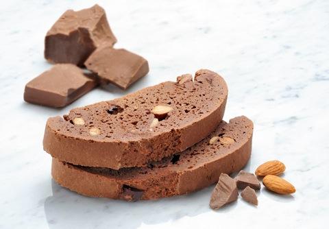 Mezzaluna Biscotti Double Chocolate Almond