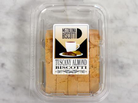 Mezzaluna Biscotti Almond Snack Size