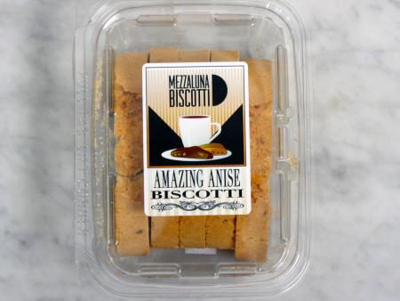 Mezzaluna Biscotti Anise Snack Size