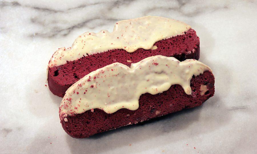 Mezzaluna Red Velvet Biscotti
