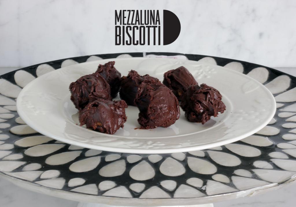 Mezzaluna Biscotti Truffles Recipe