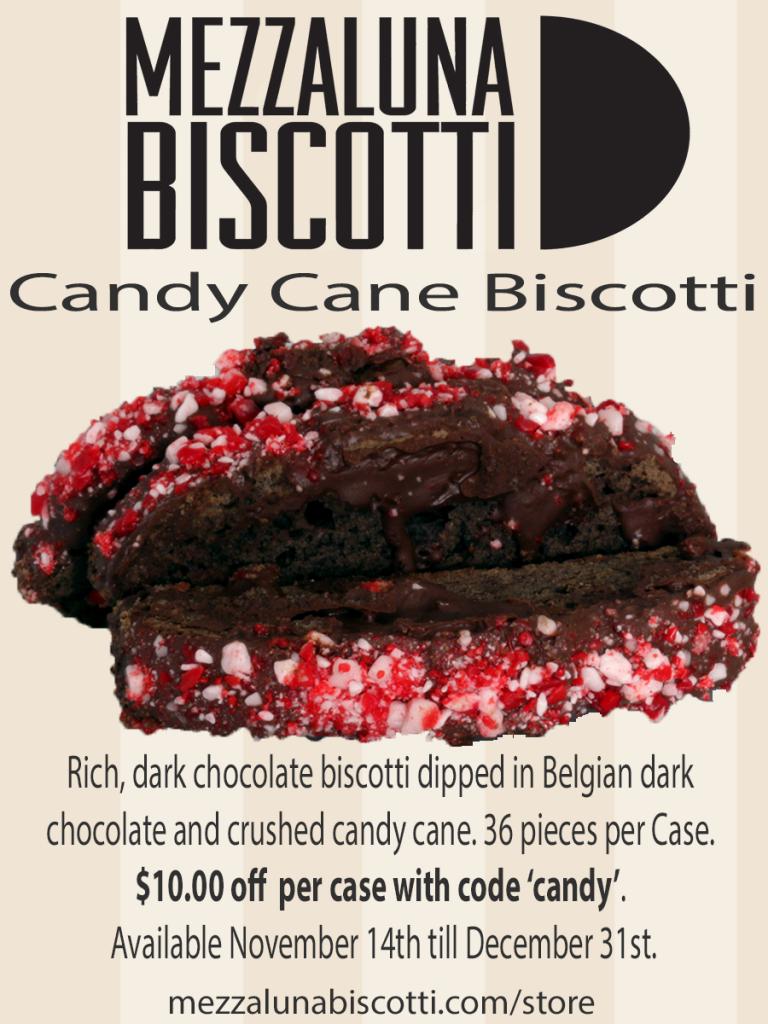 Mezzaluna Biscotti Candy Cane Case Promo Code